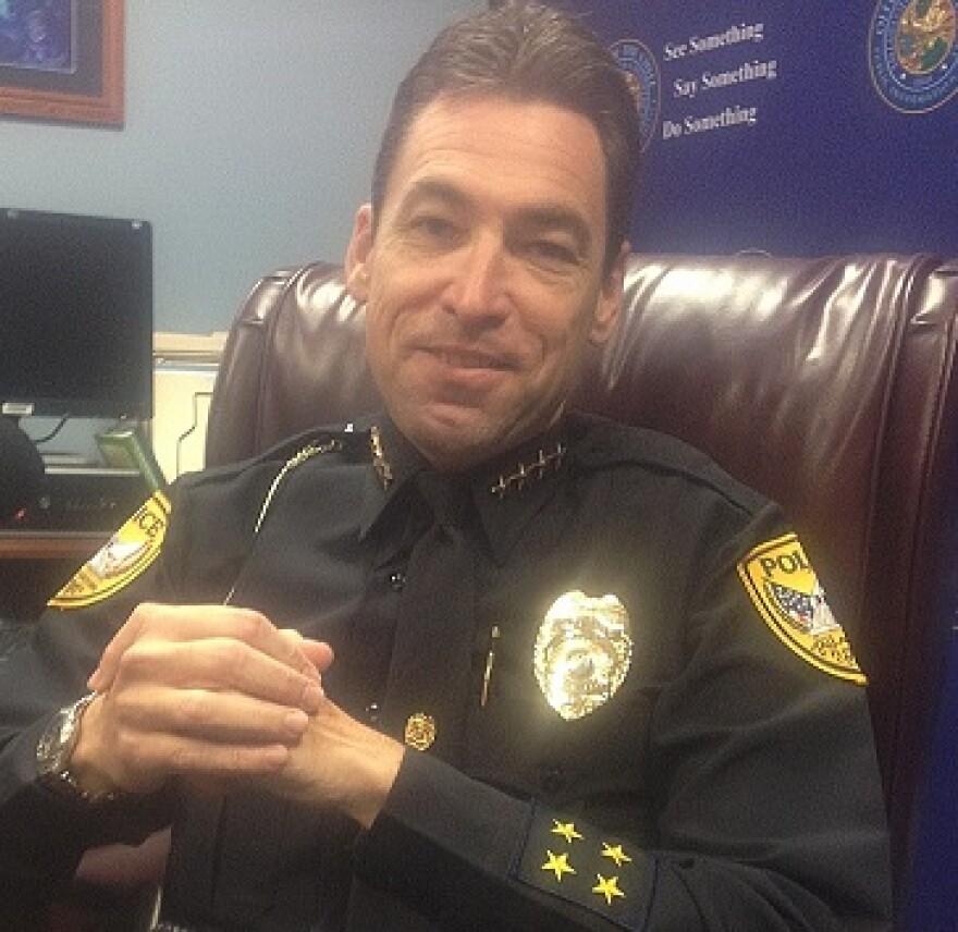 Outgoing TPD Chief Mike DeLeo's last day is July 5th. (2014)