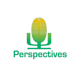 Perspectives logo, green and yellow