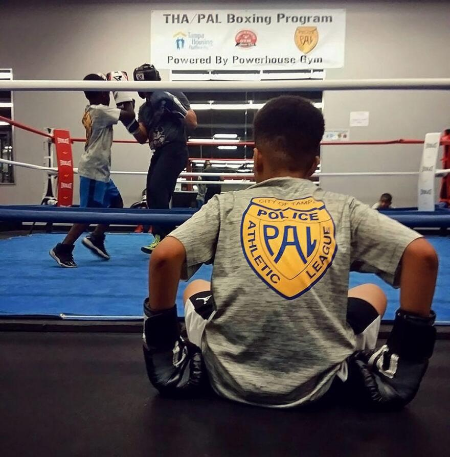The Tampa Police Athletic League and The Tampa Housing Authority have teamed up to provide a free boxing and mentorship program to low-income boys and girls' ages 8-17.