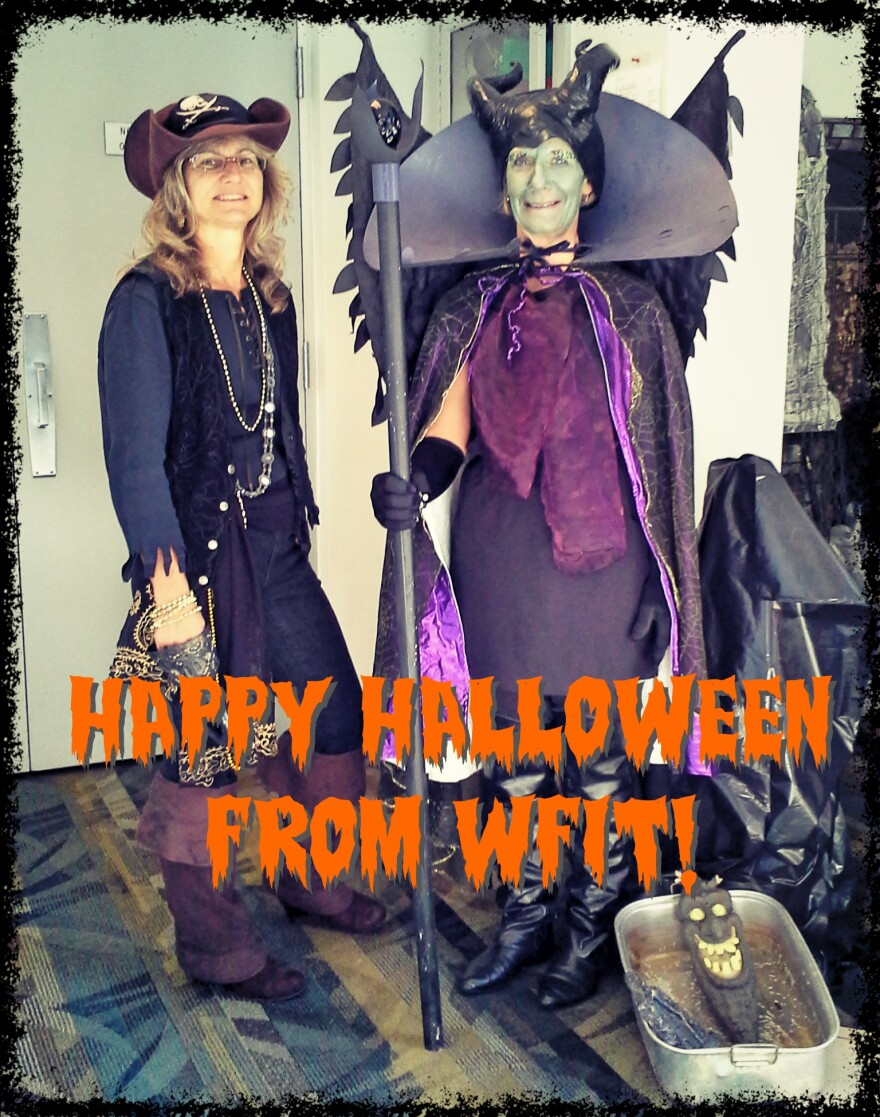 HAPPY HALLOWEEN FROM EVERYONE AT WFIT!!