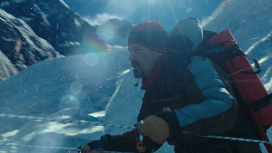 The new 3-D IMAX film <em>Everest</em> recounts a 1996 mountaineering disaster that claimed the lives of eight people. In it, Josh Brolin plays Beck Weathers, a Texan climber who was left for dead on the mountain.