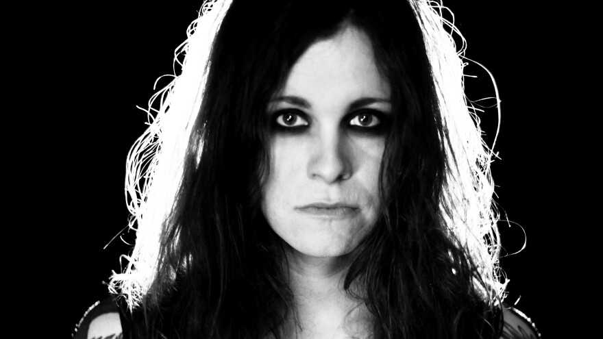 """Laura Jane Grace burned her birth certificate at a concert in North Carolina in 2016 in protest of the state's """"bathroom bill"""" requiring transgender people in government facilities to use bathrooms that match the sex on their birth certificate."""
