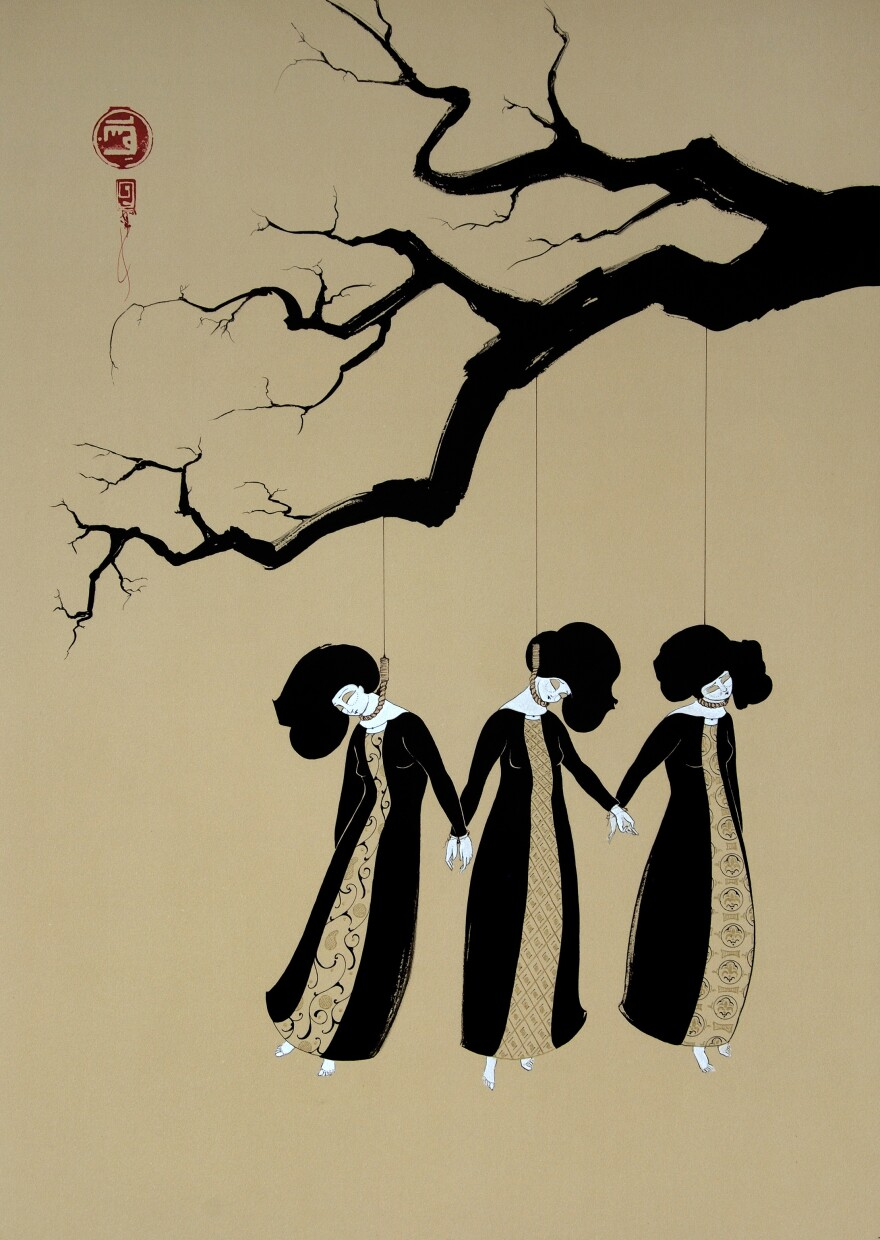 """Three Women Hanging"" (2008)."