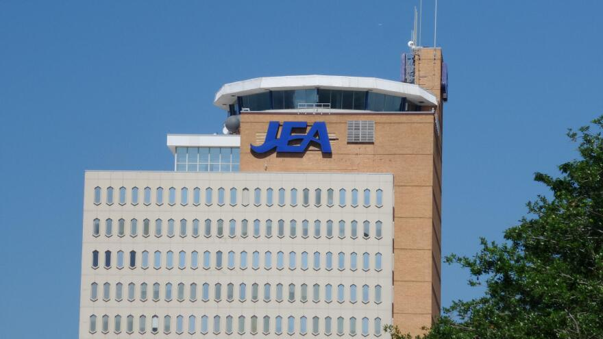 JEA's downtown Jacksonville headquarters building is pictured.