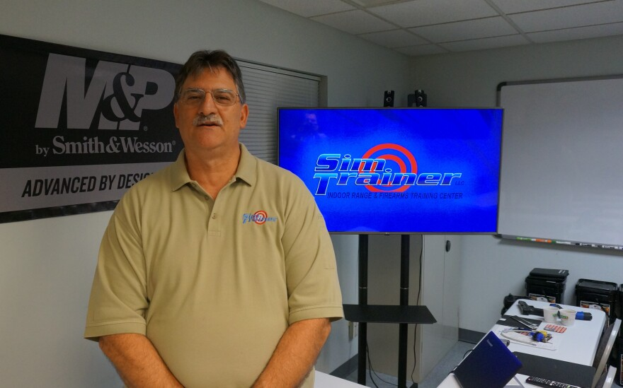 Jeff Pedro of Sim-Trainer.
