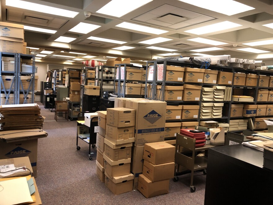 photo of the Cleveland Memory Project Archive