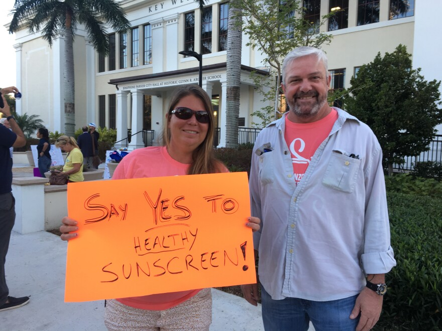 Conservationists successfully lobbied the city of Key West to ban the sale of sunscreens with two chemicals believed to harm corals.