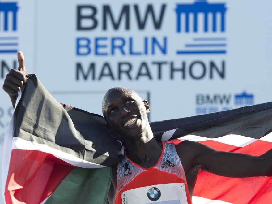 Kenya's Wilson Kipsang set a world marathon record when he won the Berlin Marathon on Sept. 29 in 2 hours, 3 minutes and 23 seconds. He is Kalenjin, a group that has produced many of the world's best distance runners.