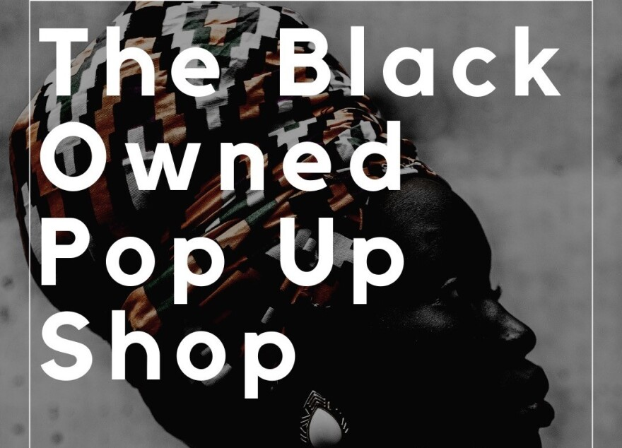 ForTheCultureSTL.com creater Ohun Ashe wants to help circulate funds in St. Louis' African American community by promoting black-owned businesses and hosting events like the pop-up shop on Wednesday.