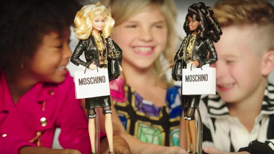 """Mattel's Michelle Chidoni says there wasn't any trepidation over casting a boy in a recent Barbie ad. """"Barbie is a brand that's all about imagination and storytelling, whether you're a boy or a girl,"""" she says."""