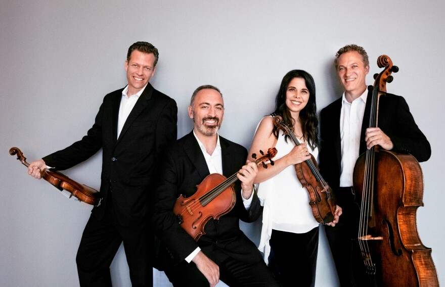 photo of Pacifica Quartet