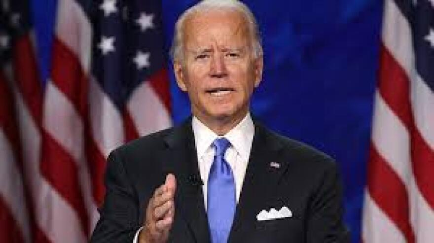 2020 Democratic Party Presidential Nominee Joe Biden