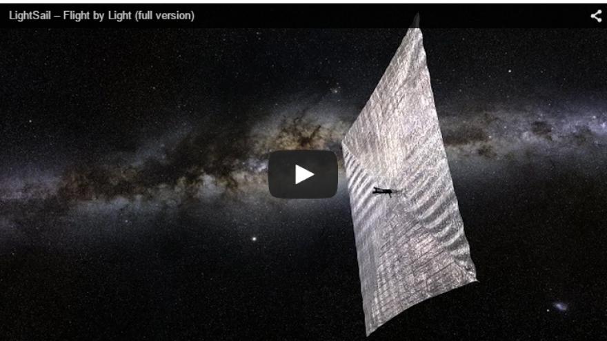 Planetary Society's LightSail experiment.