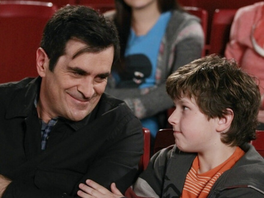 """In <em>Modern Family</em>, writes Hanna Rosin, dad Phil Dunphy, played by Ty Burrell, is """"the center of joy and fun in his household."""""""