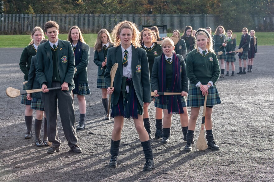 """<em>Derry Girls </em>follows five teenagers in a Catholic school in Northern Ireland during the 1990s.<em> </em>""""This show, it's very Derry, in all the right ways,"""" says <em>Derry Girls</em> fan Gilly Campbell. """"It's put Northern Ireland on the map for all the right reasons."""""""