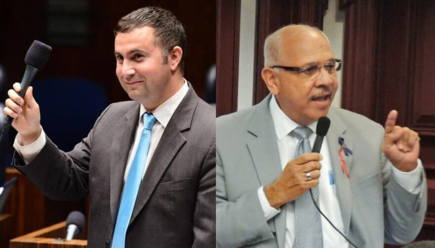 Orlando Democrats, Sen. Darren Soto (left) and Rep. Victor Torres