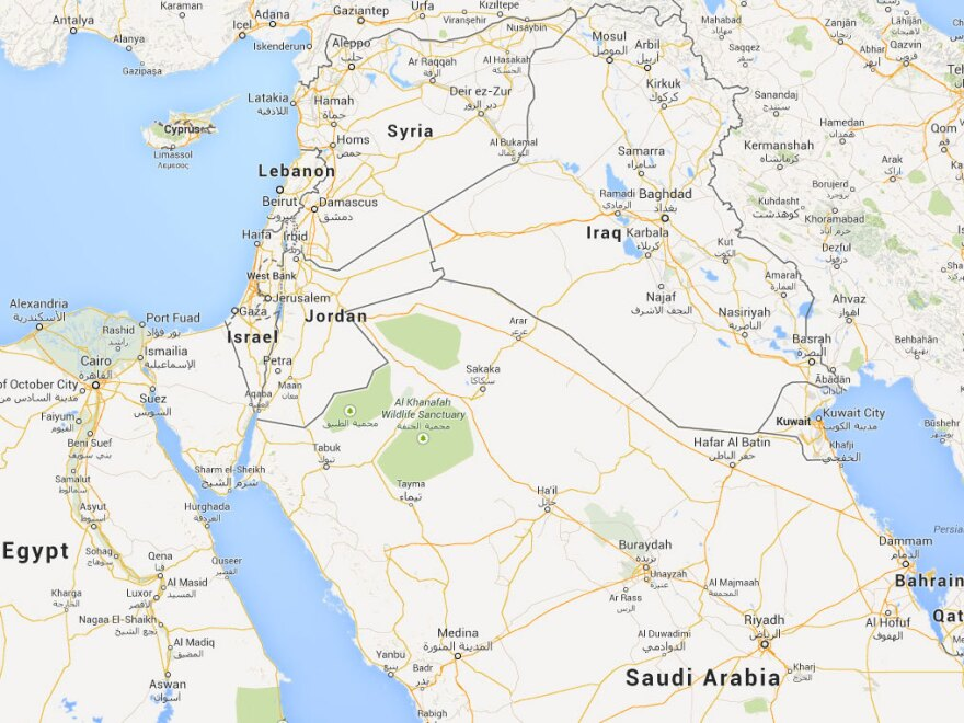 Saudi shipments must pass through Jordan to reach Syria's southern border.