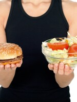 There may be growing chorus of veggie cheerleaders, but don't assume most Americans are choosing salad over hamburgers.