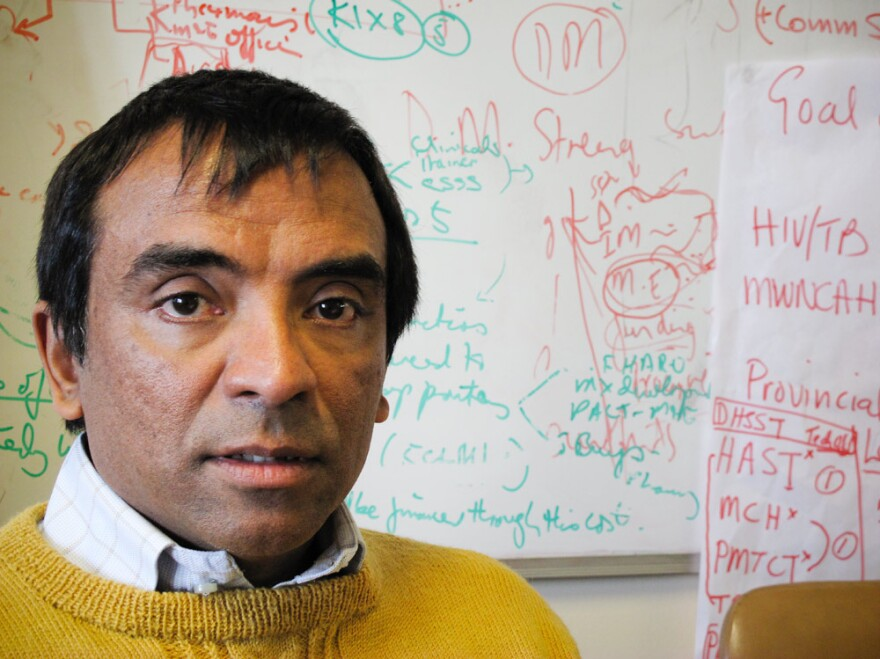Longtime AIDS activist Dr. Ashraf Grimwood says South Africa has made huge strides in confronting HIV. But he worries that giving anti-retroviral drugs to healthy people could have negative consequences in the long term.