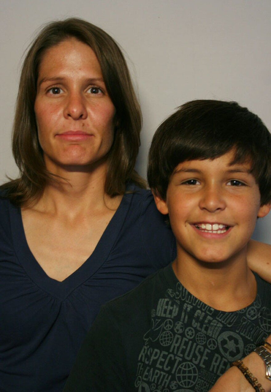 At StoryCorps in the Tri-Cities area of Washington state, Anand Hernandez and his mom, Sarah Avant, discussed his parents' 2009 divorce.