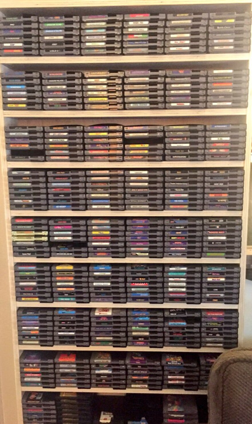Kovacs video game collection