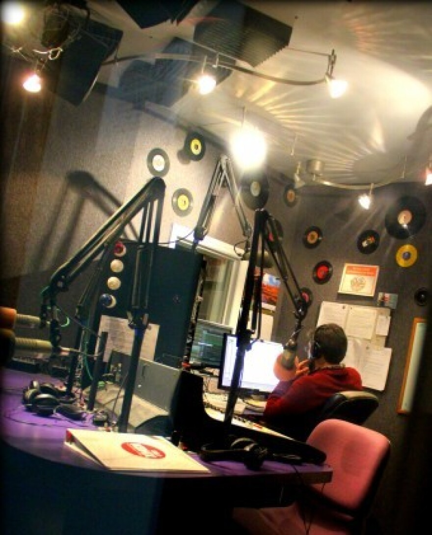 view of studio