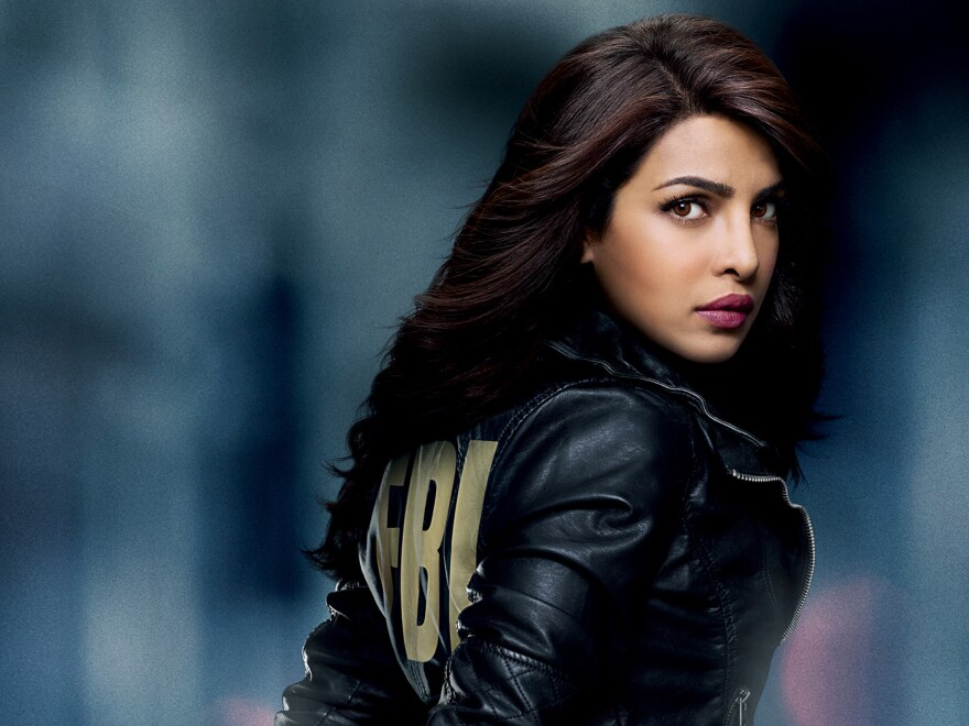 Bollywood superstar Priyanka Chopra stars in ABC's <em>Quantico.</em>