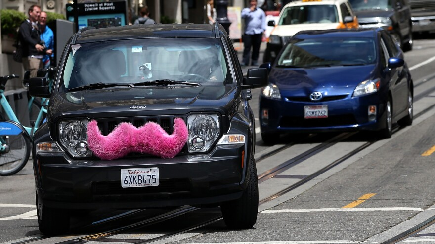 Uber's going the distance to try and crowd out its competition, like Lyft and its signature mustached vehicles.