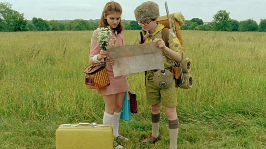 Kara Hayward and Jared Gilman star in Wes Anderson's latest film, <em>Moonrise Kingdom</em>.