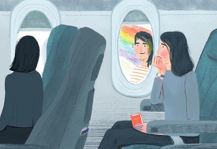 LGBTQ students study abroad.