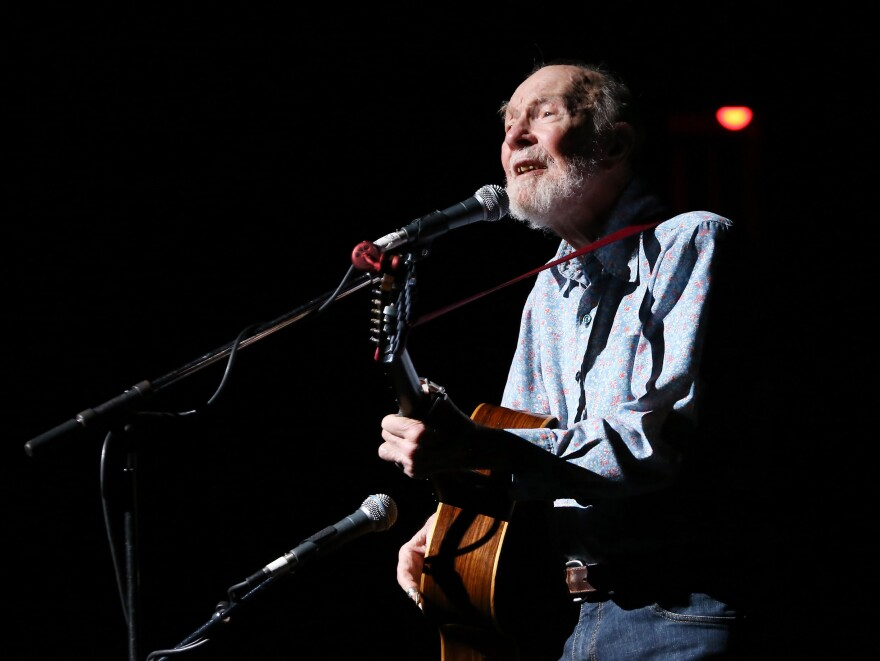 Pete Seeger was an environmentalist, an activist and the most prominent folk musician of his generation.