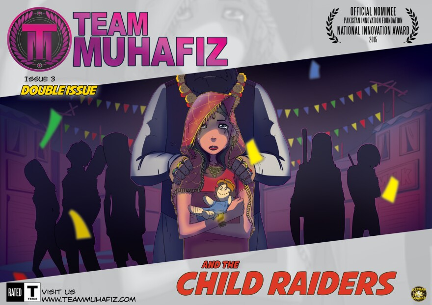 The teen heroes in this Pakistani comic book try to rescue a 13-year-old from an arranged marriage.