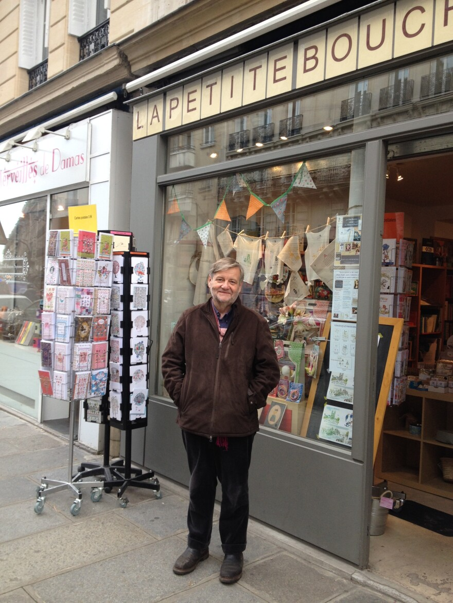 Jean-Paul Collet, owner of two independent bookshops in Paris, says his stores never would have survived without French legislation that bars discounts of greater than 5 percent on books.