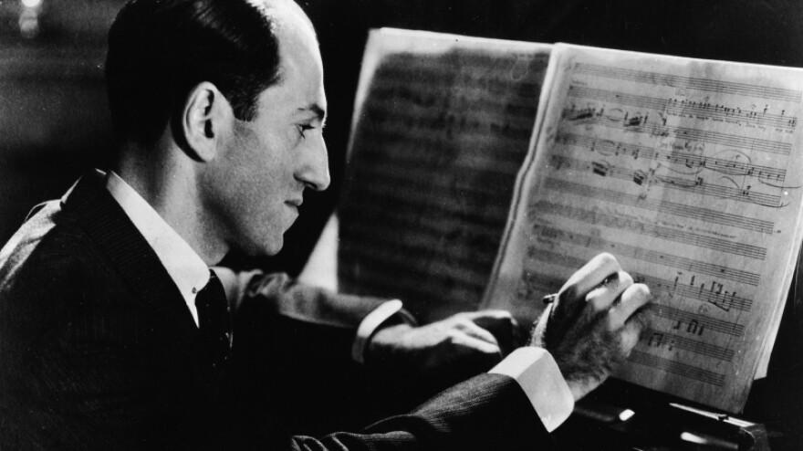 George Gershwin's most famous works include <em>Rhapsody in Blue</em>, <em>An American in Paris</em> and the opera <em>Porgy and Bess</em>.