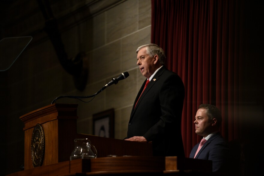 Missouri Gov. Mike Parson delivers his second State of the State address on January 15.
