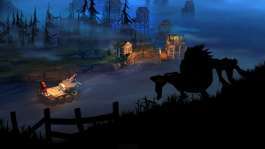In The Flame and the Flood, you'll die. A lot. (See that wolf?) But each time, you'll learn something new.