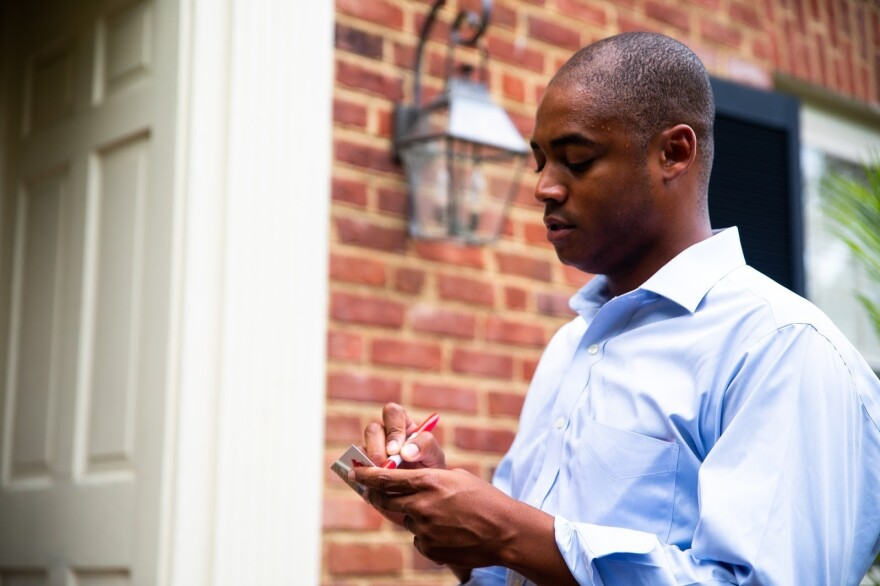 Garrison Coward is one of two African American Republican candidates running in next month's legislative elections in Virginia. Coward previously served as an aide to GOP U.S. Rep. Rob Wittman and led the Republican Party of Virginia's outreach to minority voters.