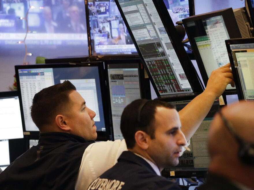 On an otherwise slow trading day, both the Nasdaq and Dow Jones indexes made notable gains. The Nasdaq closed at a record 5,487 points while the Dow inched closer to a 20,000 high.