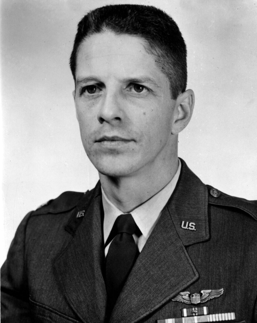 Maj. Rudolph Anderson Jr. was shot down and killed over Cuba during the October 1962 crisis.