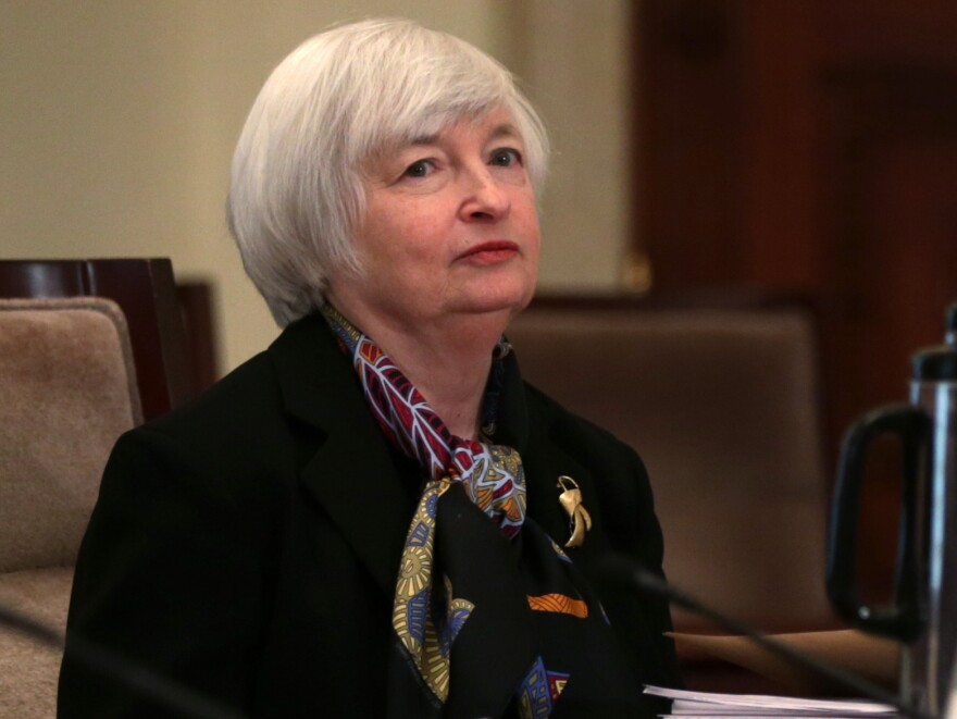 Janet Yellen, who is poised to move from the No. 2 to the No. 1 post at the Federal Reserve.