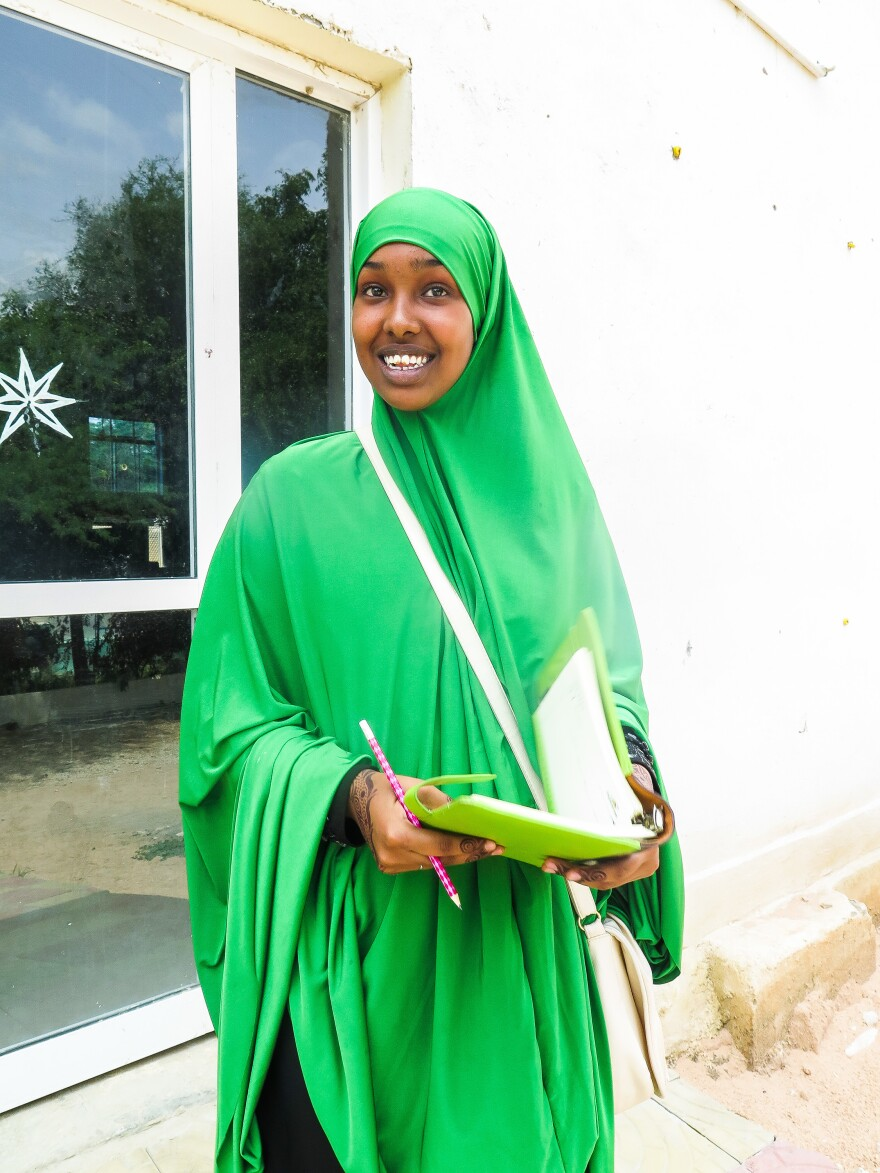 At 16, Roda Hassan was the top scoring girl student in her high school exams in all of Somaliland. Her dream is to finish her trilogy of motivational books for youth — compiling advice learned from her mom and other mentors.