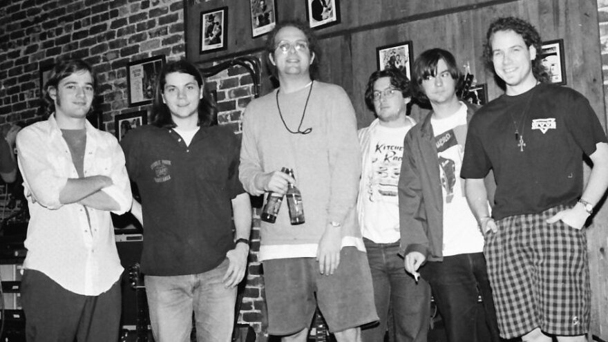 <p>Uncle Tupelo at the Sapphire Supper Club in Orlando, Fla. Jeff Tweedy (second from left) went on to form Wilco, while Jay Farrar (second from right) created Son Volt.</p>