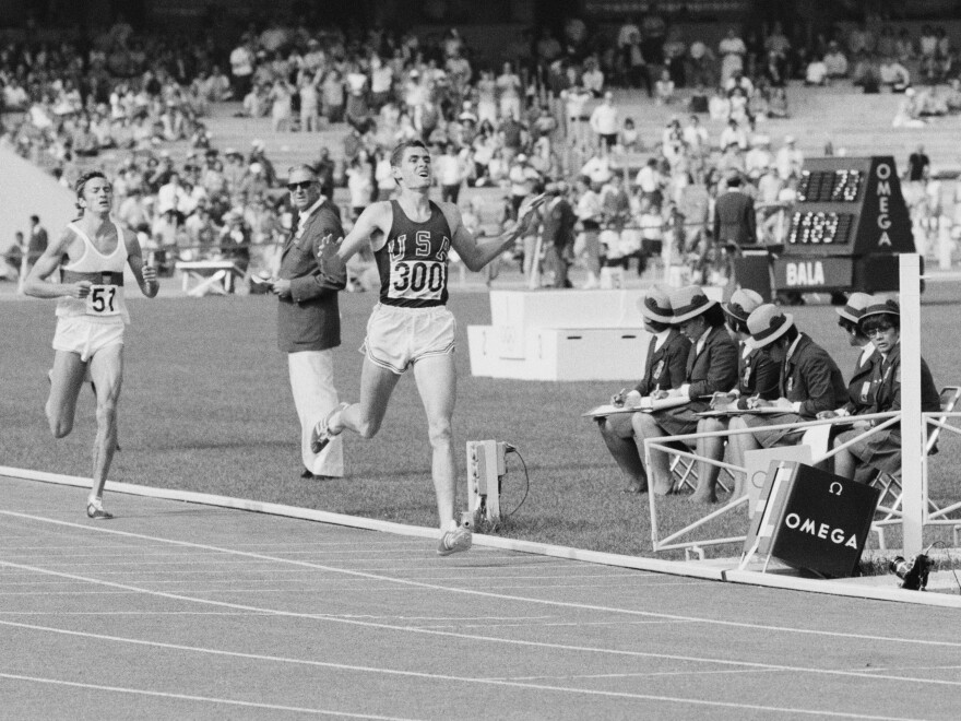 Jim Ryun took silver in the 1968 Summer Olympic Games in Mexico City. About 30 years later, he won election to Congress from Kansas.