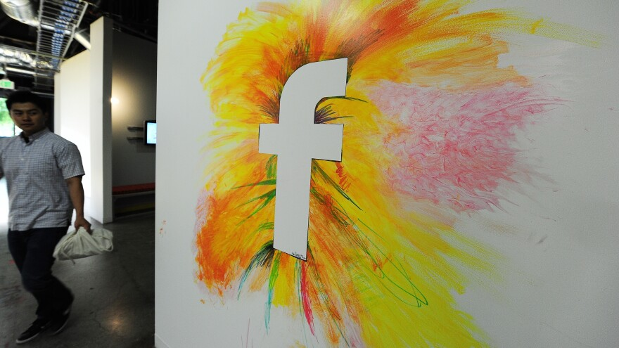 Wall graffiti at Facebook headquarters in Menlo Park, Calif. The company released a diversity report last month showing that 70 percent of employees are male; African-Americans comprise 2 percent of it workforce.