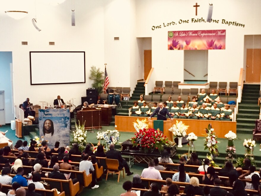 Hundreds of family members and friends gathered at St. Luke Missionary Baptist Church to remember Thomas James McNichols.