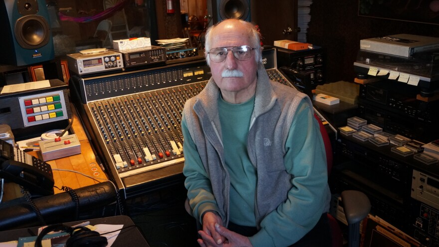 Tom Lopez has been creating radio dramas for more than 40 years.