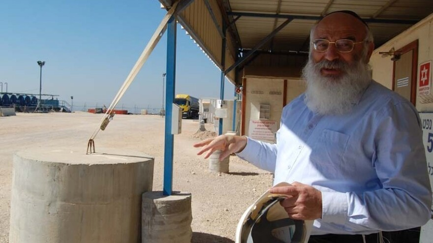 """Givot Olam CEO Tovia Luskin expects to drill 40 wells and build a pipeline to a refinery on the coast. The company already has """"proven and probable"""" reserves of 12.5 million barrels of oil. Luskin chose where to drill based on a passage from the Bible."""