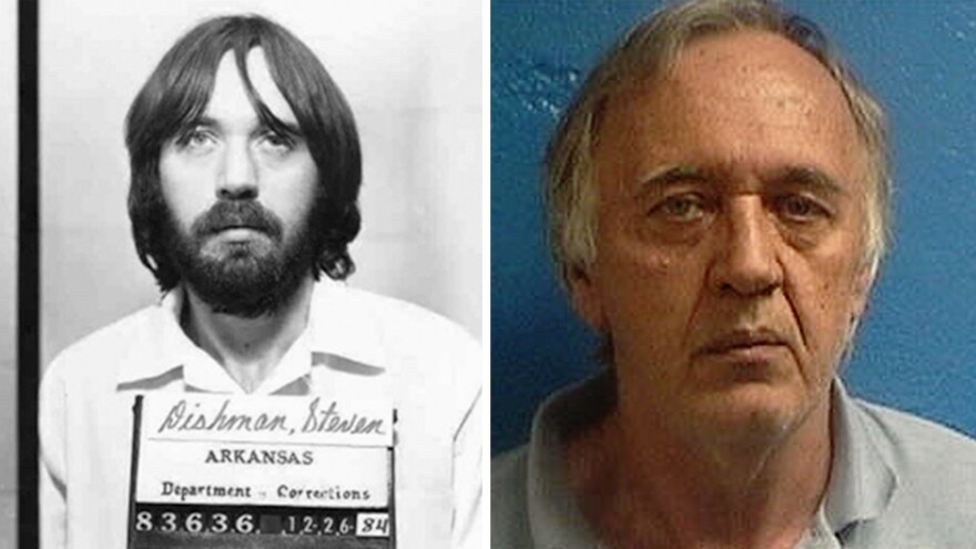 A 1984 photo shows Steven Dishman, who was serving a seven-year sentence for theft of property and burglary convictions when he escaped on May 28, 1985. Dishman was arrested on Sunday in Springdale, Ark., by local law enforcement and state troopers.