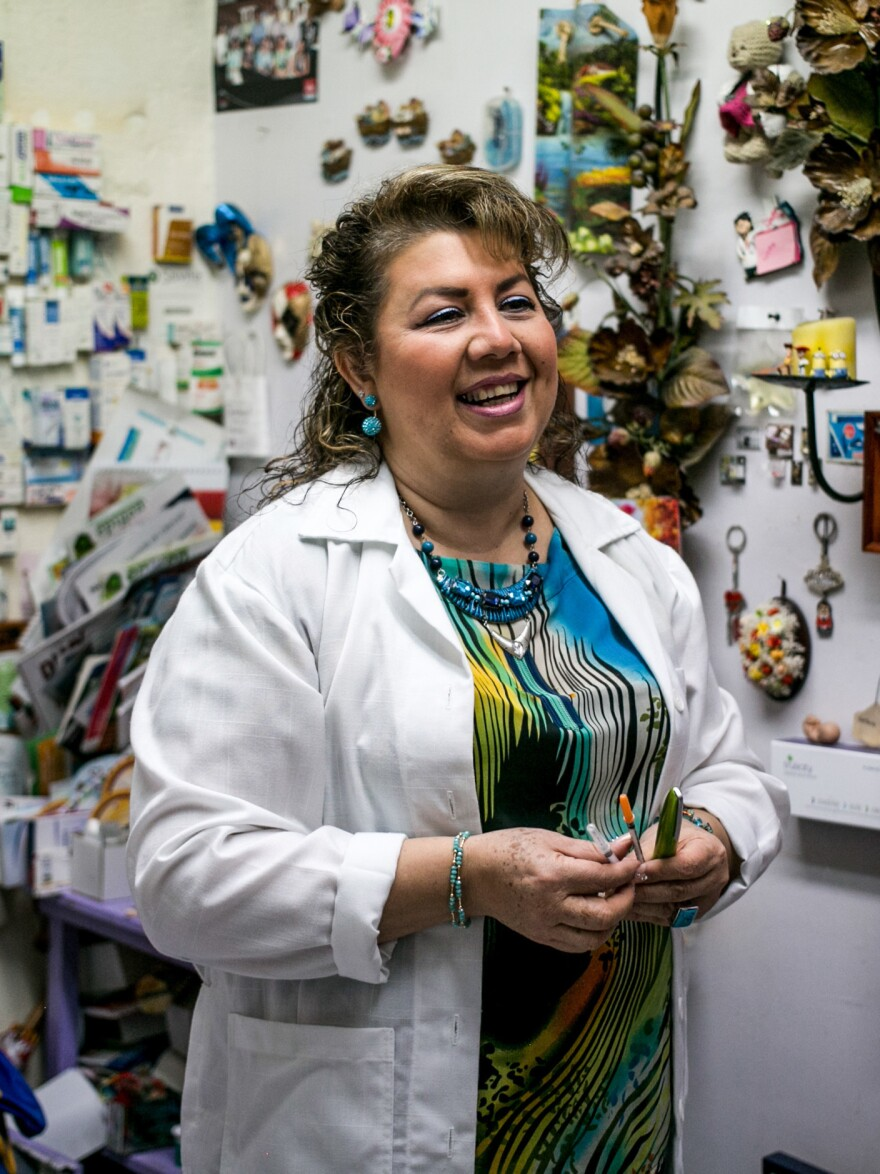 """Dr. Estrella Gomez says her patients don't want to accept that they have a disease for which there is no cure. """"Tell me anything but don't tell me I'm a diabetic,"""" they say to her."""