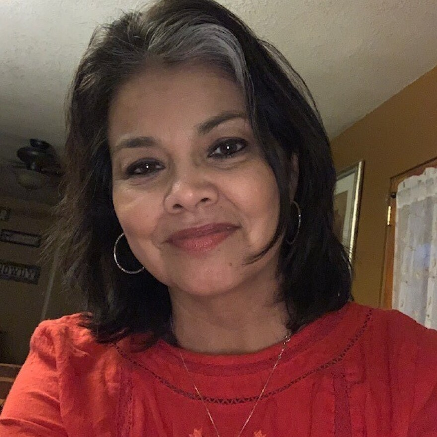 Jena Martinez-Inzunza tested positive for COVID-19. Her colleague died. She's cautious about reopening schools, despite the difficulties of online instruction.